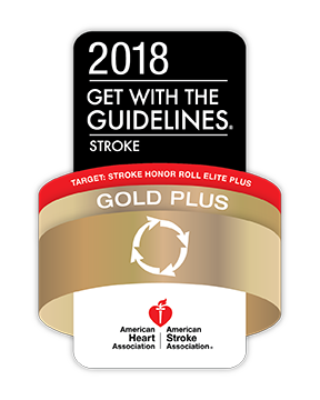 American Heart Association/American Stroke Association's Get With The Guidelines®-Stroke Gold Plus Quality Achievement Award